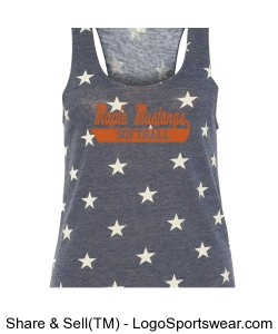 Ladies Jersey Racer Tank Design Zoom